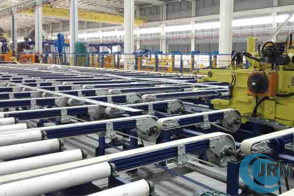 aluminium extrusion handling table